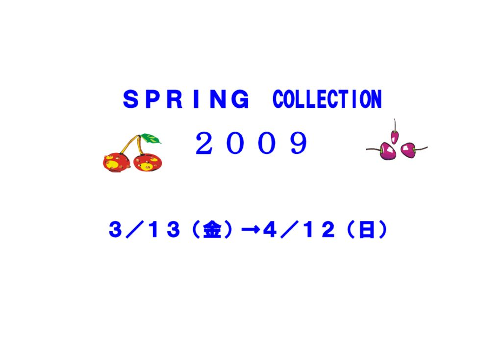 w01-21SPRINGCOLLECTION 2のサムネイル