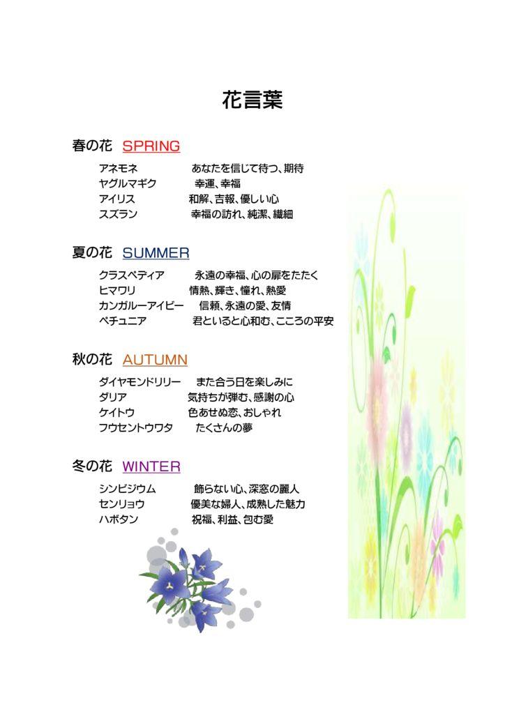 W1-1花言葉のサムネイル